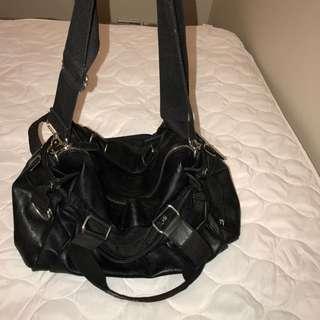 Leather Laptop & Travel Bag