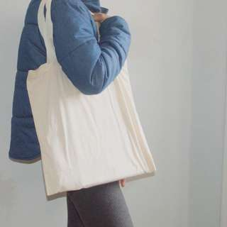 2 Medium Sized CANVAS BAGS