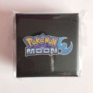Pokemon Official Collector's Edition Moon Pin