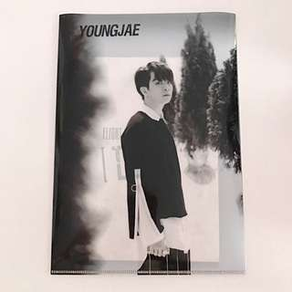 TRADE GOT7 Official Flight Log: Turbulence Thailand Edition Youngjae Folder