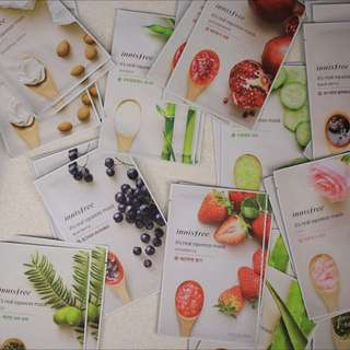 💋Innisfree Sheet Masks $2 Or 10 For $18!
