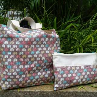 Lunch Bag And Pouch