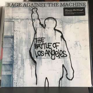 Rage Against The Machine - Battle Of Los Angeles. Vinyl Lp. New