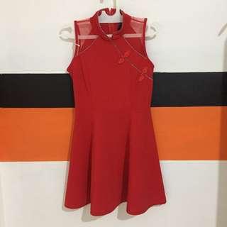 CAVALIER RED DRESS