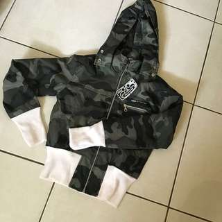 Crop Jacket Size M