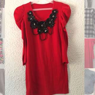 Red Clothes Top