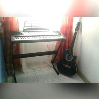 Organ & Guitar