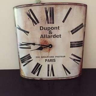 Tatty Marsh French Style Clock
