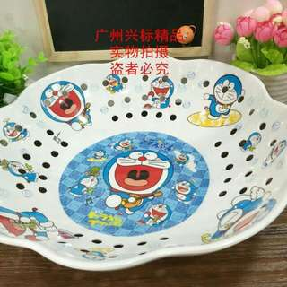 Piring Tempat Buah Melamin Doraemon