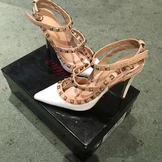 Adore White Shoes