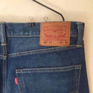 Levi 501 Original Fit Jeans