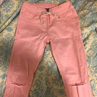 Fashion Nova Peach Pants