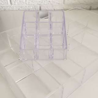 Clear Makeup Organiser Holder