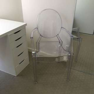 Glamour Clear Chair