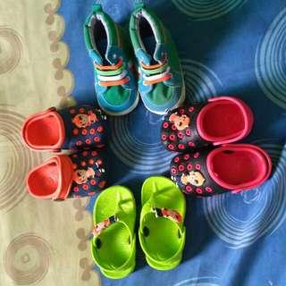 sandal anak (size 18 dan 19)