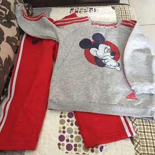 Adidas Mickey Mouse Set