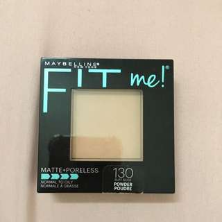 Maybelline Fit Me Matte + Poreless Powder (130 Buff Beige)