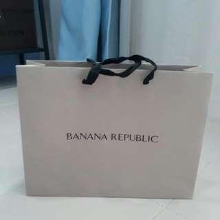 Banana Republic Paperbag