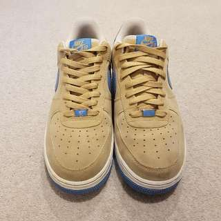 Nike Air Force 1 XXV Tan/Blue