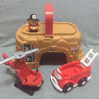 Fisher Price Little People - Mining Set