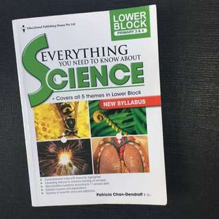 Everything you need to know about science lower primary