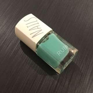Mint RUBI nail Polish