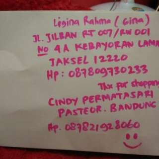 Testimoni Pengiriman Jakarta 😉