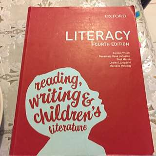 Literacy Reading, Writing & Children's Literature