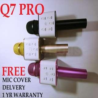 Q7 Pro Wireless Bluetooth Karaoke Microphone