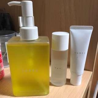 THREE平衡潔膚油 200ml