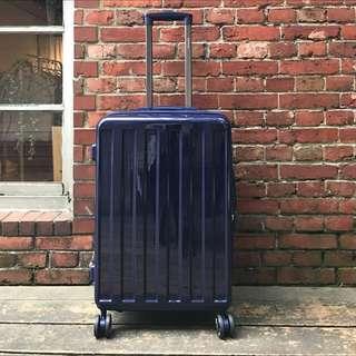 連人都裝的下 28吋超大容量行李箱 PC硬殼飛機輪旅行箱 專利輔助輪 海關鎖拉桿箱   貨櫃競技場系列
