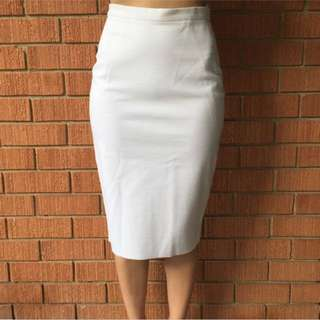 White Bodycon Skirt