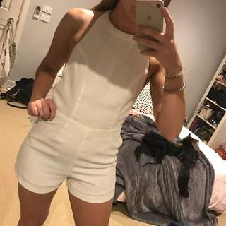 White Party Playsuit