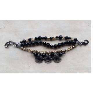 Mimco – Gold and Black Bracelet