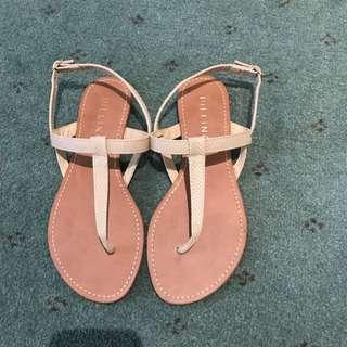 Billini Cream Sandals