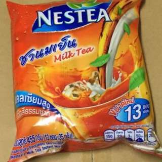 泰國 雀巢泰式奶茶 手標牌即溶式奶茶