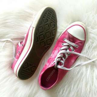 Limited Edition PINK Converse Sneakers