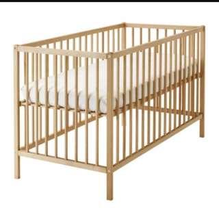 二手ikea嬰兒床附床墊(自取)