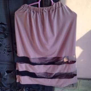 Preloved Rok Organza Skirt