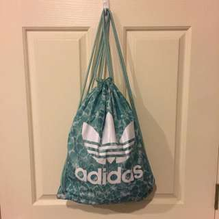 Green Adidas Performance Gym Bag