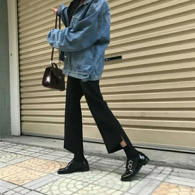 2017春夏全新直筒西裝褲
