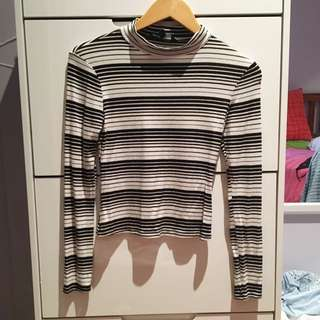 Glassons Size 8 Stripe Top