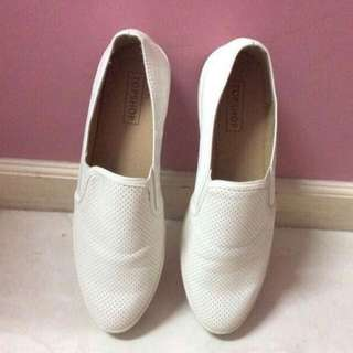 sepatu slip on merk top shop ukuran 37