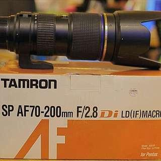 Tamron 70-200 2.8 For Pentax