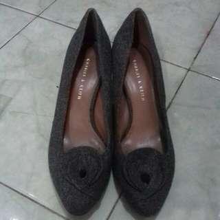 Sepatu Charles And Keith High Heels