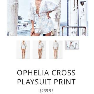 Winona Ophelia Playsuit