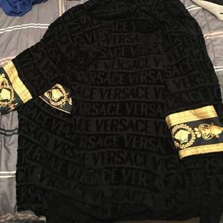 AUTHENTIC VERSACE ROBE