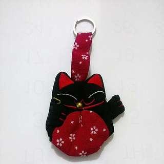 貓咪鑰匙套