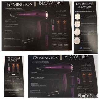 Original Remington Blow Dry in a Box