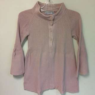 Zara Pink Knitted Top